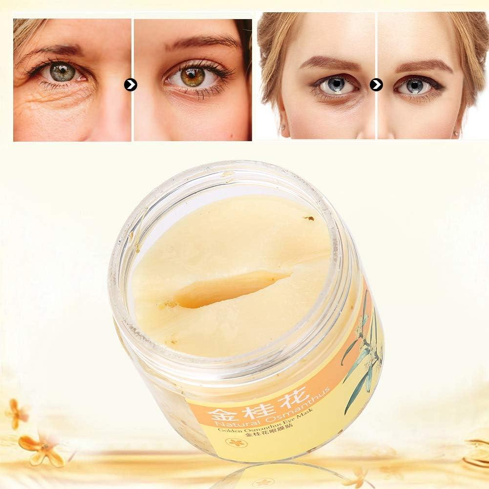 Máscara para los ojos, mascarilla antiarrugas, pegatina humectante para el párpado doble, mascarilla antiarrugas para el parche párpado hidratante
