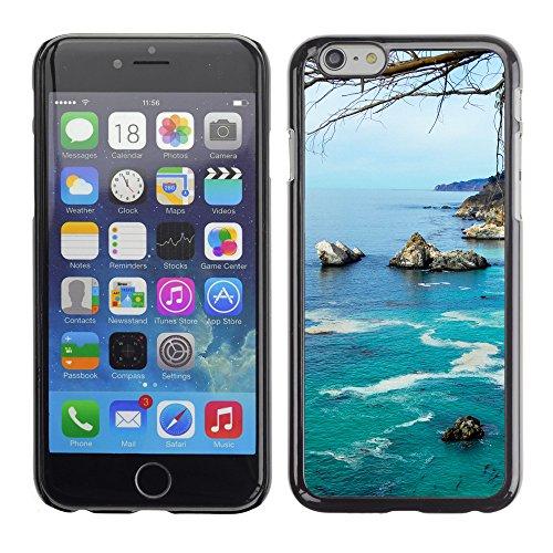 """Premio Sottile Slim Cassa Custodia Case Cover Shell // F00004512 côte Caifornia // Apple iPhone 6 6S 6G PLUS 5.5"""""""