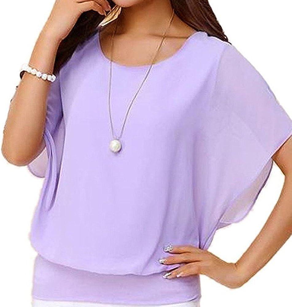 Cinnamou Chemisier Femme T-Shirt Manches Longues Blouse Top en Mousseline Printemps /Ét/é Tunique Shirts Imprim/é Floral avec Boutons Chic
