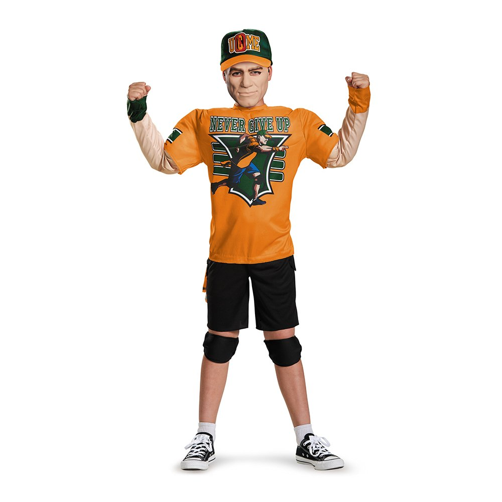 Disguise Costumes John Cena Classic Muscle WWE Costume, Large/10-12 11408G