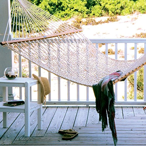 The Original Pawleys Island 15OC Cotton Rope Hammock Presidential Edition by Hammock Source