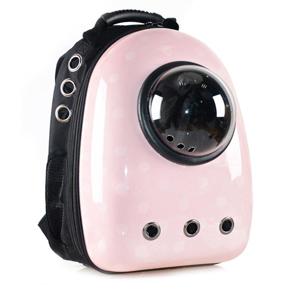 YIXIN Gatti e cani cani cani Zaino da compagnia borsa PC + Oxford Tessuto in tessuto Diversi combinazioni rosa 11.8X11X16.5 pollici daec83