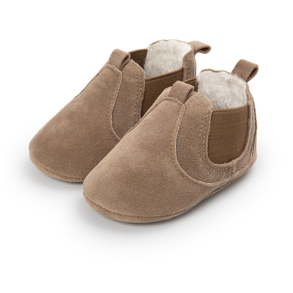 AHZZY Winter Baby Girl Boots Infant Moccasin Newborn Boy Girls Warm Shoes
