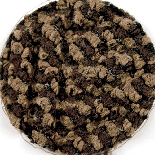 M+A Matting 296 Brown Polypropylene WaterHog DiamondCord Mat, 8.4