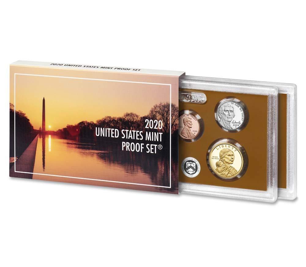 1971 S Proof Set Original Box US Mint 5 Coins