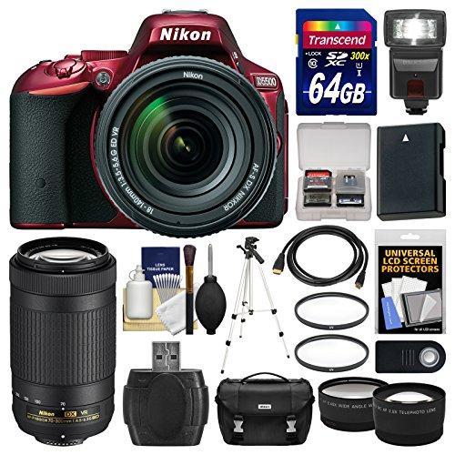 nikon-d5500-wi-fi-digital-slr-camera-18-140mm-vr-dx-af-s-red-with-70-300mm-vr-af-p-lens-64gb-card-ca