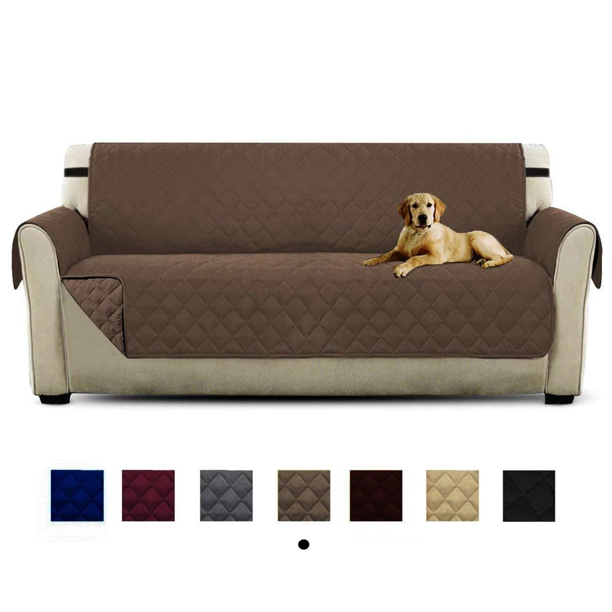 Anti-Sucio para Mascotas Protector de Sof/á Muebles HONCENMAX Funda Cubre Sof/á 3 Plazas 110X 75 Protector para Sof/ás Acolchado