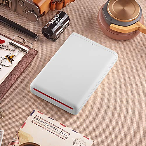 SUNSHAN AR Photo Printing, inkless Printer, Bluetooth Wireless Connection, Portable Instant Color Photo Printer, Full Color Prints, Photo Peritoneum and Quick Drying. by SUNSHAN (Image #3)