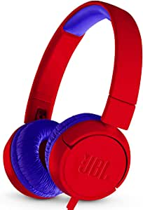 JBL JR 300 - On-Ear Headphones for Kids - Red