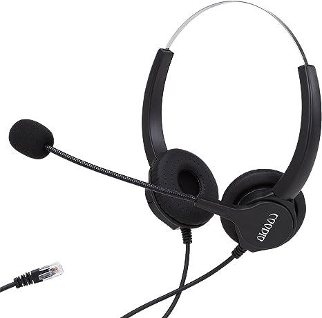 10 x RJ10 Headset Mikrofon Telefon Adapter Westernstecker Telefonheadset Klinke