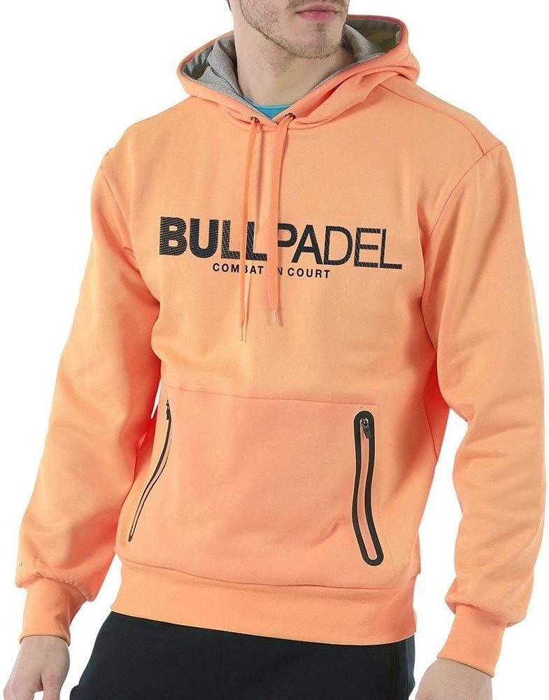 Bull padel Sudadera Ortex (L, Naranja flúor): Amazon.es: Deportes ...
