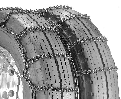Pack of 1 Security Chain Company QG4841 Quik Grip V-Bar Type RDT Light Truck Dual and Triple Tire Traction Chain