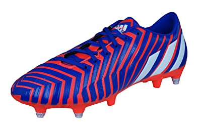 adidas Predator Absolado Instinct SG Mens Football Boots Cleats-Red-7.5 f8065b000a