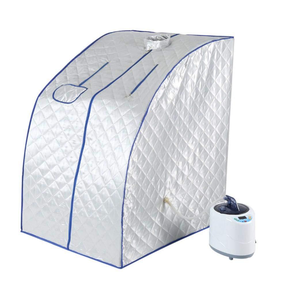 Sauna Spa Machine 110V 2L Portable Steam Sauna Spa Home Tent Pot Machine Shape Body Weight Loss Therapy