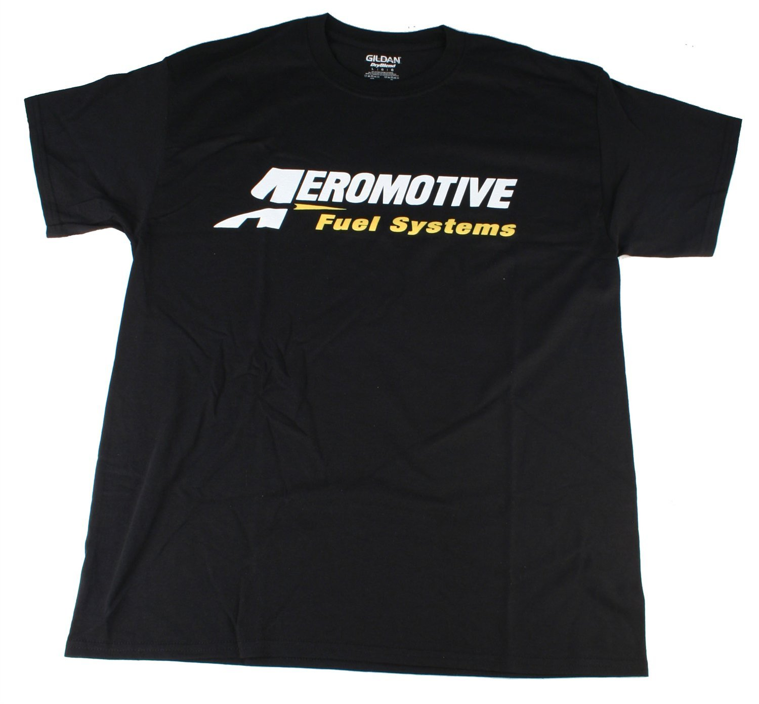 Large Black Aeromotive 91016 Logo T-Shirt