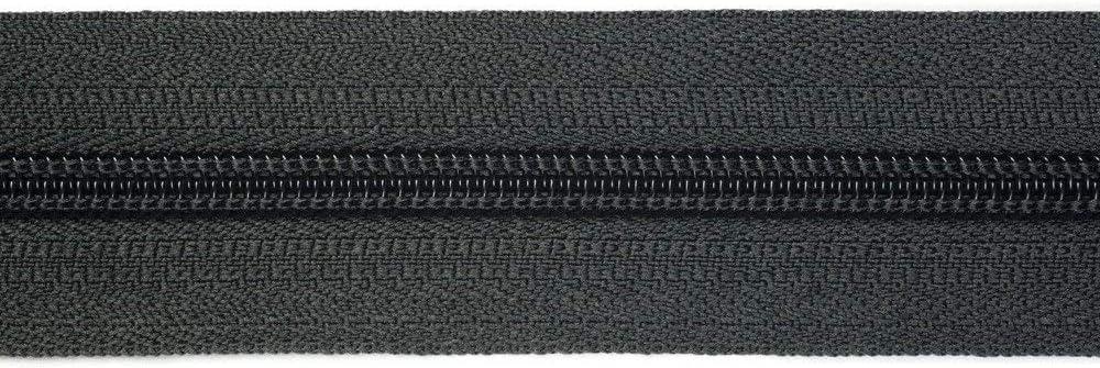 24 mm large comprenant 10Non Bloquer-Curseur ton sur ton Choisir 40 Couleurs // Couleur: 88 5 m Fermeture /éclair au m/ètre