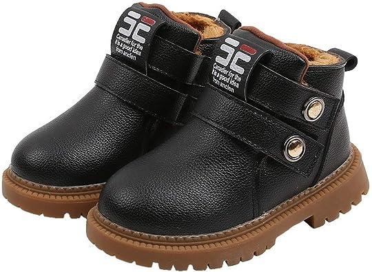 Toddler Boys Girls Waterproof Boots Non