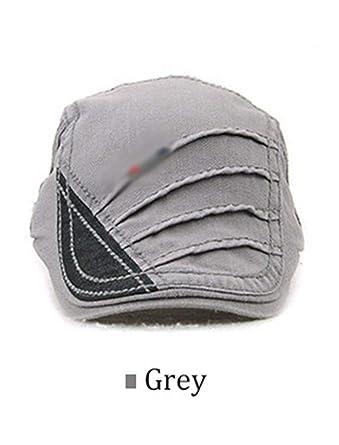Hulione Cotton Beret Hats Unisex Spring Summer Flat Caps Men Vintage Gorras Planas Boinas Berets Mens
