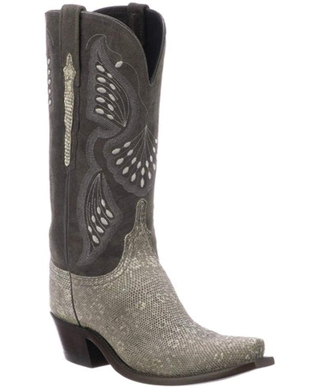 b9d8d373012 Amazon.com | Lucchese Women's Lea Western Boot Snip Toe | Boots