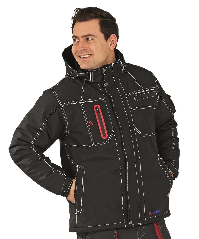 Planam Men's Blouse Jacket Black Black