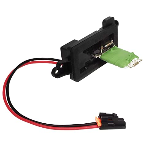 ac blower motor resistor kit replacement with wire harness- hvac fan blower  motor fan speed