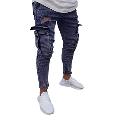 b1e20bd2602f6 Yvelands Liquidación de Pantalones de Hombre