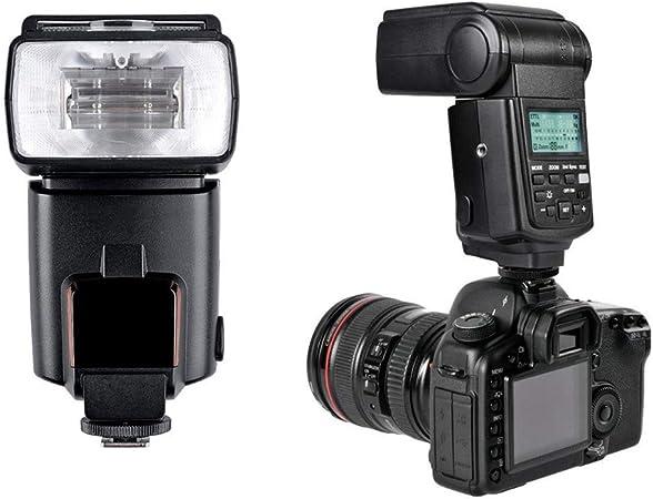 QYRL Flash Speedlite Wireless Flash Trigger with LCD for Canon 7D 550D Camera 600D 400D 500D 450D 30D 60D,50D 40D