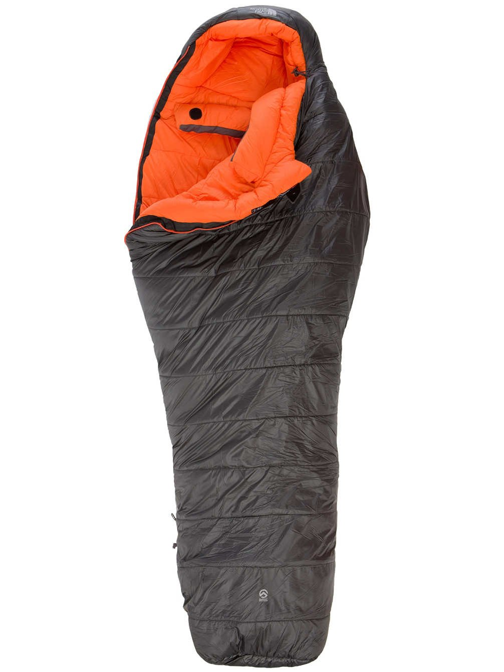 The North Face Schlafsack Dark Star - Saco de dormir momia para acampada, color gris, talla L: Amazon.es: Deportes y aire libre