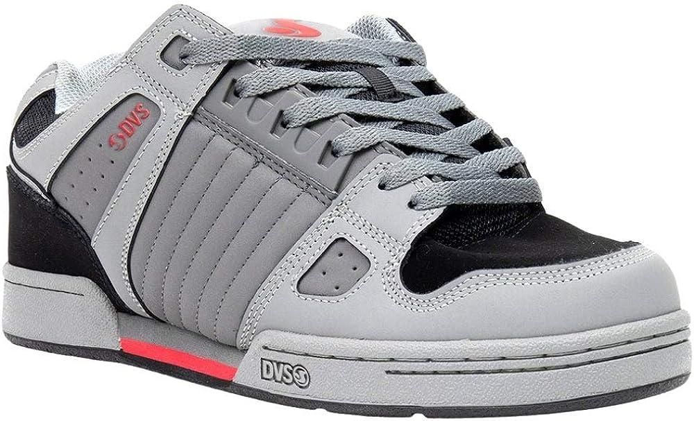 DVS mens Celsius Skate Shoe, Charcoal/Black/Red, 12 US: Shoes