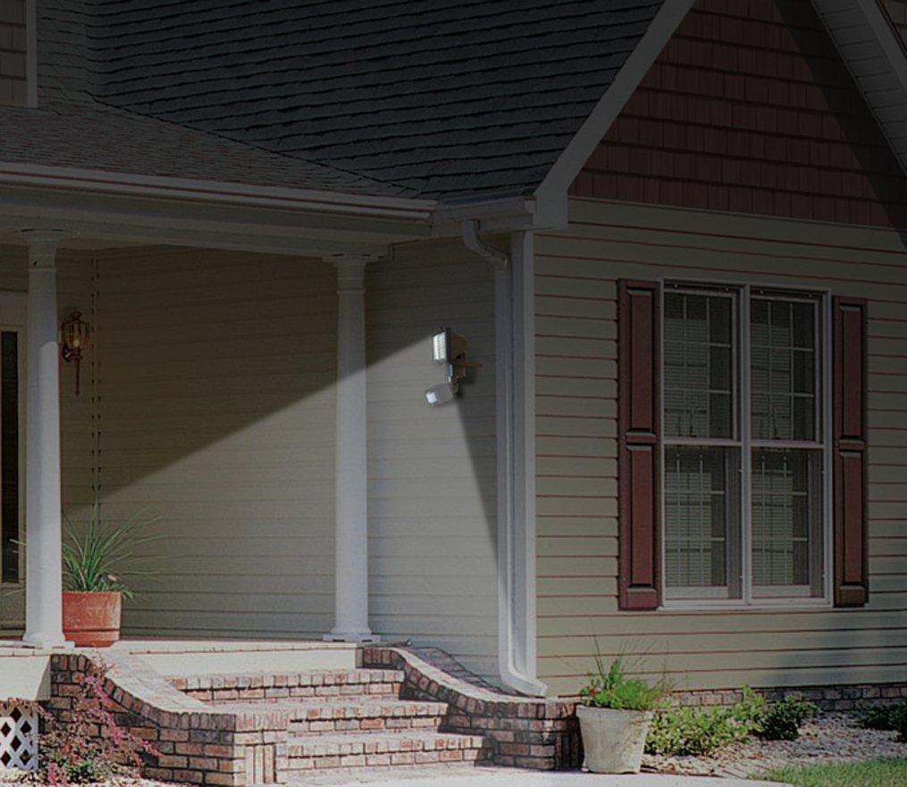JPLSK Solar Motion Sensor Security Light, 60Leds Outdoor Waterproof 3W Solar Powered Flood Light for Storage Shed,Patio, Deck, Yard, Garden, Driveway