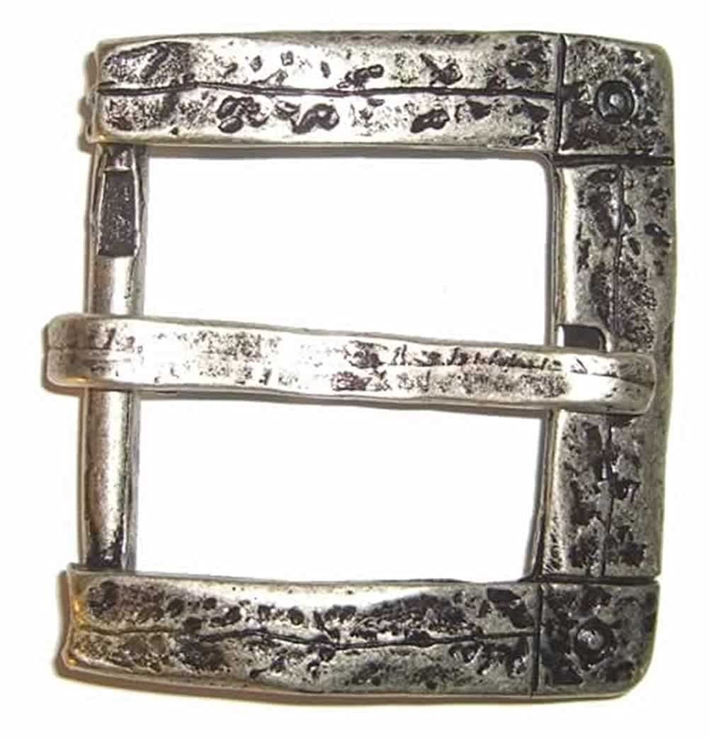 'Old Silver' Belt Buckle 1-1/2