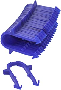 Uponor A7012000 Foam Board 2 inch Staples, PEX Tubing Pipe Radiant Heating and Cooling Floor Installation, Blue, 300 Per Box