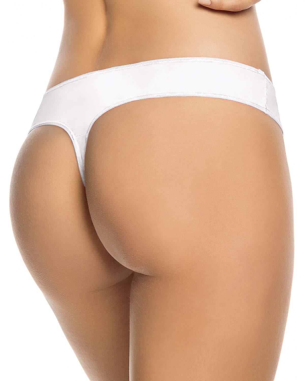3-Pack High Cut Thong Panties Leonisa 12909X3