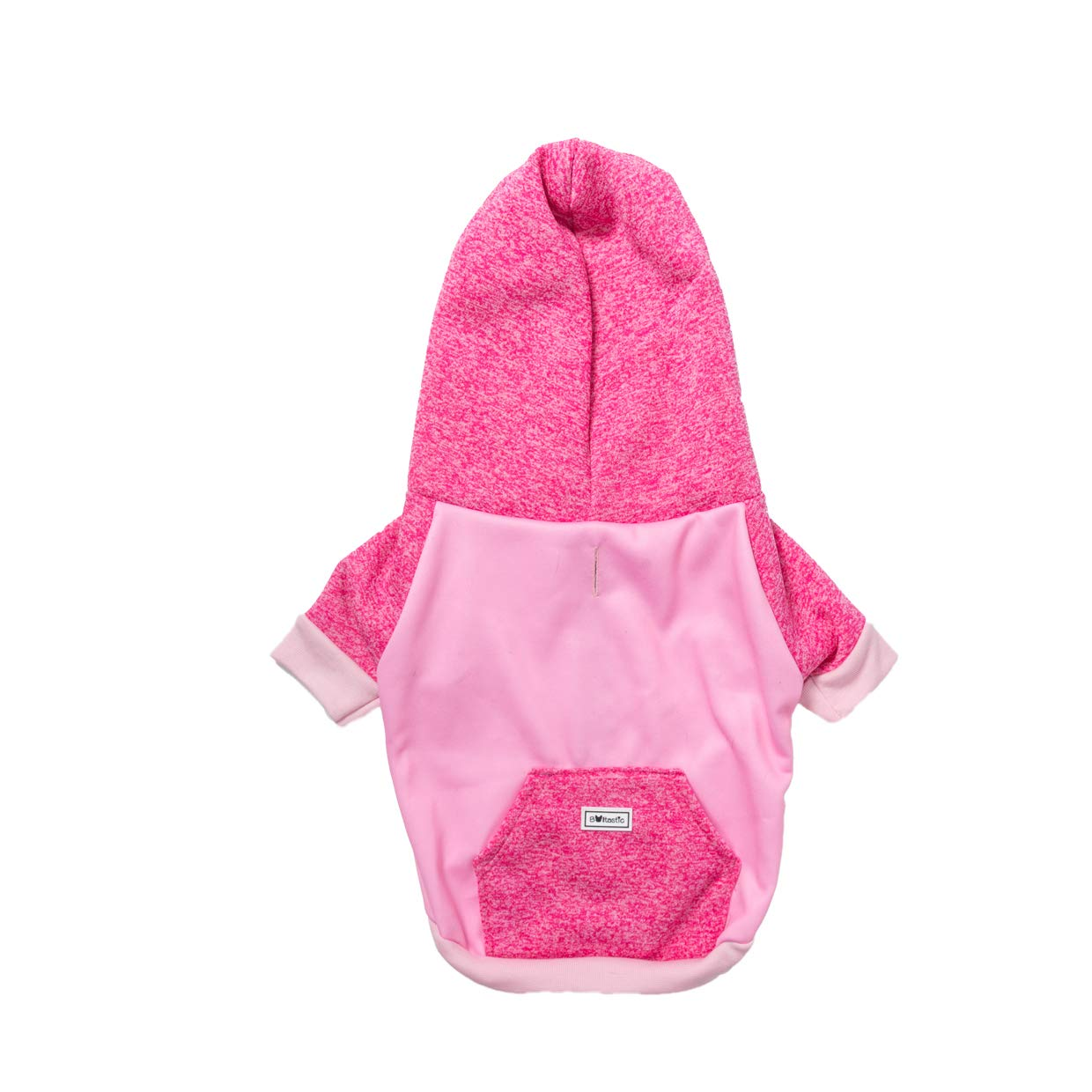 Bulltastic Winter Hoodies for Small Dog Breeds - Cool & Stylish Dog Fashion Jumper - Premium Quality, Comfortable, with Zipper - Designed to Allow Easy Leash Attachment (M)