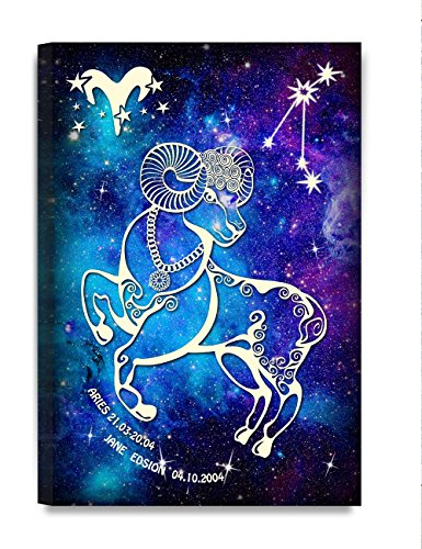 DecorArts - Aries Constellation - Personalized canvas prints Artwork, Includes