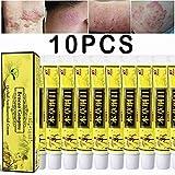 10pcs/Lot High Quality Chinese Herbal Eczema, Psoriasis Creams Dermatitis and Eczema Pruritus Psoriasis CEZUBEM Ointment