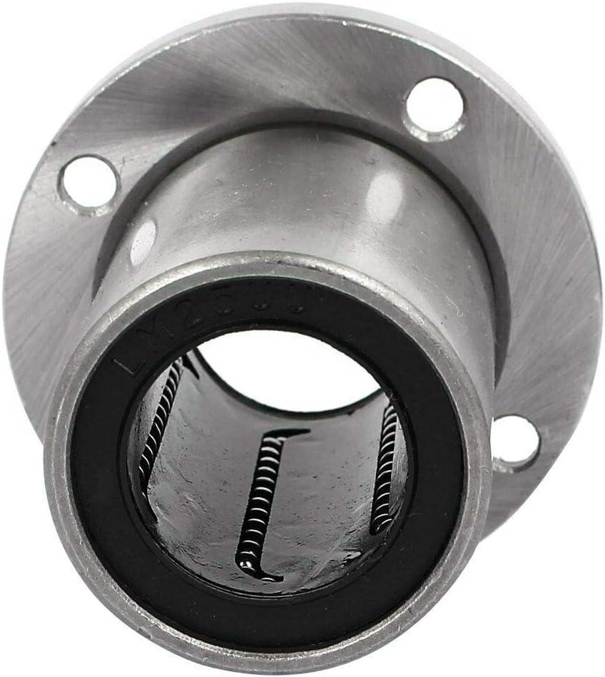 ecc BE-TOOL CNC grigio Boccola lineare con flangia a cuscinetto a sfera per stampanti 3D
