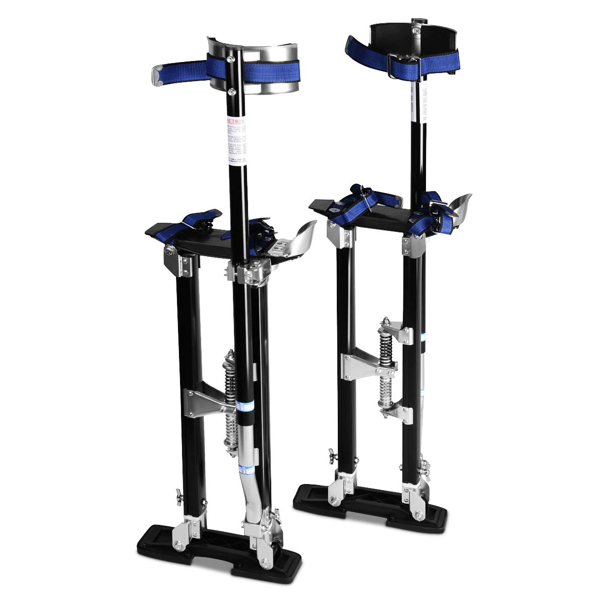 "Drywall Stilts Aluminum Tools Painting Painter 18-30/"" Taping Silver Adjustable"