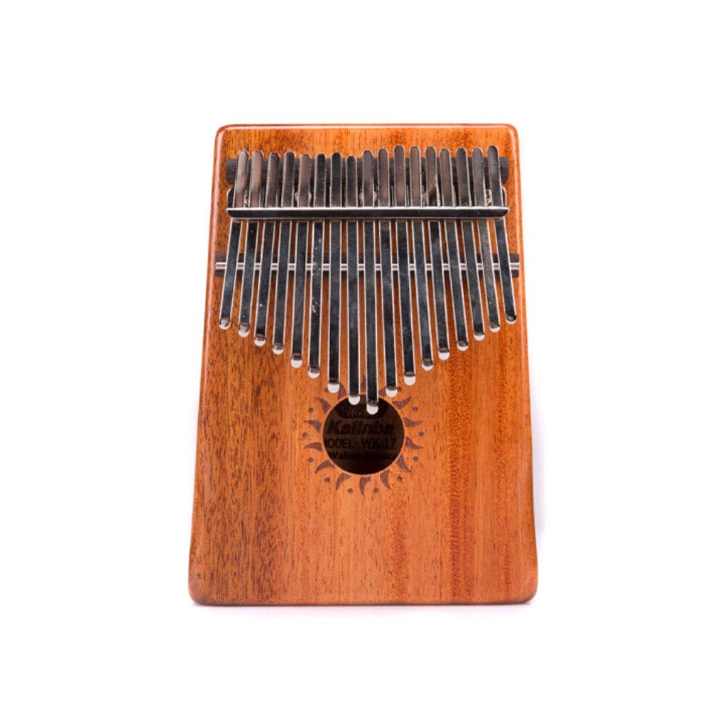 Youshangshipin Kalimba, Carimba 10-tone 17-tone Finger Piano, Beginner Portable (10-tone Style 1, Giveaway; Piano Bag + Tuning Hammer) (Edition : 17 tone style 2)