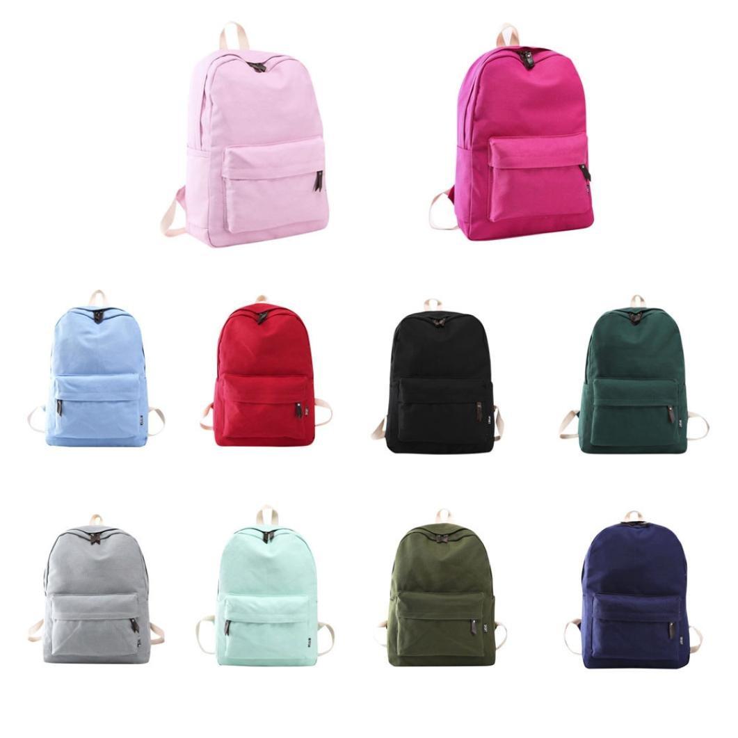 mochilas escolares juveniles niña Switchali Lona bolsas escolares moda Pijo  Mochila escolares niño mochilas mujer casual ... 5ee047849d26e