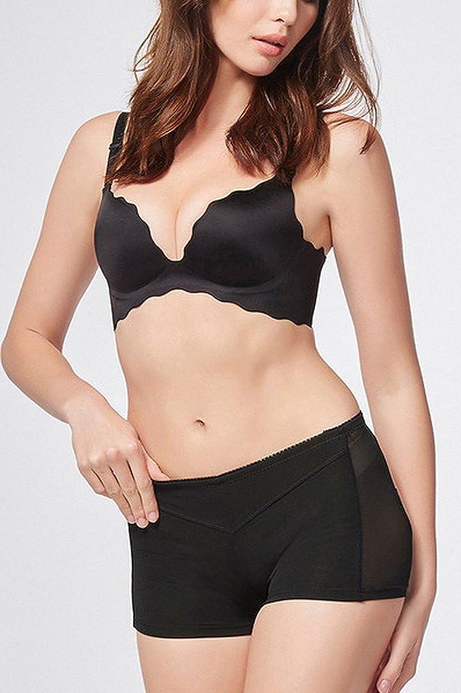 Foucome Women Butt Lifter Open Bottom Tummy Control Panties