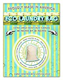 Laundry Bag. 4 Count. Heavy Duty- Extra Large Size: 40 Inches Tall by 30 Inches Wide. Proudly Made in California. Toughest Laundry Bag Sold on Amazon!