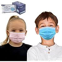 Para niños, 50 uds Mascarilla Quirúrgica IIR infantil Homologada CE   3 capas (BFE>99%)   desechable - no Reutilizable…