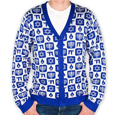 Chanukah Cardigan Sweater