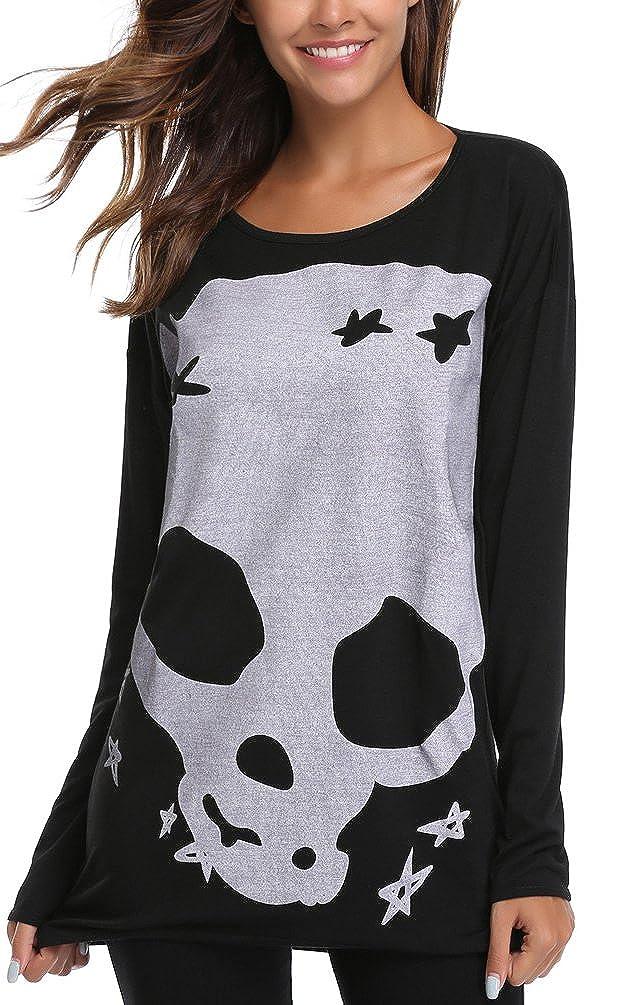 Miss Moly Women's Long Sleeve Jumper Blouse T-Shirt