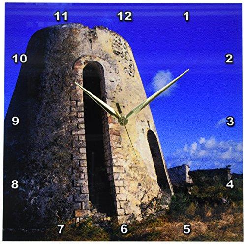 3dRose dpp_74402_2 Us Virgin Islands, St. Croix. Sugar Mills Plantation-CA37 BBA0001-Bill Bachmann-Wall Clock, 13 by 13-Inch