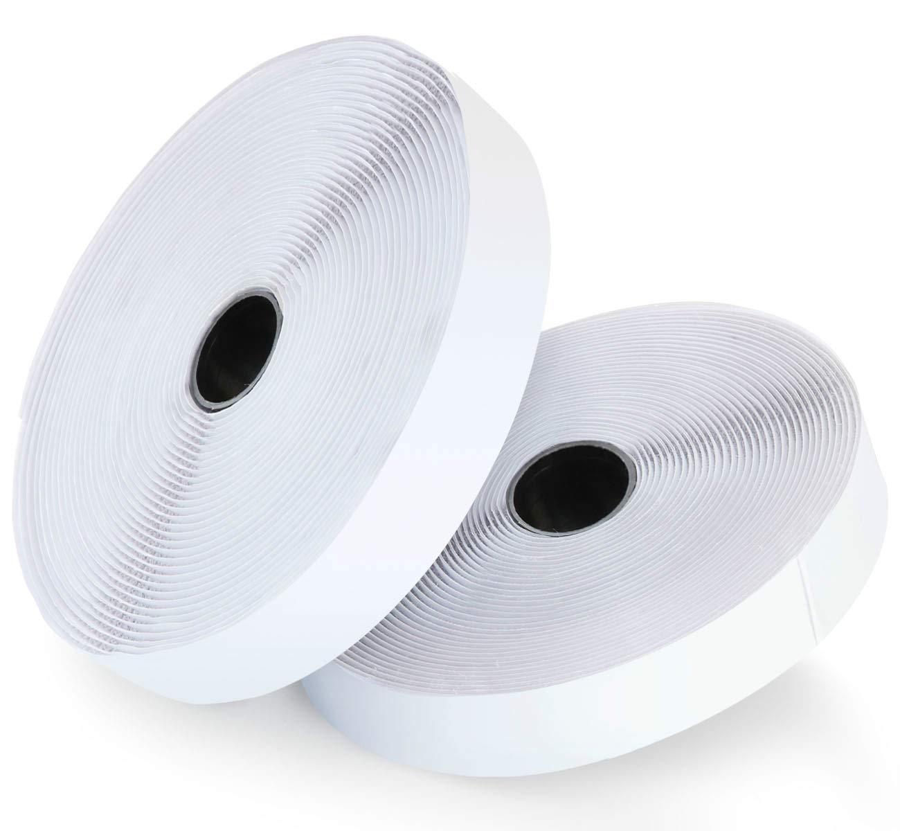 10M*2 Gancio e Anello Fissaggio Autoadesivo Nastro Velcro Adesivo Velcro e Ganci Nastro Adesivo Velcro Absofine