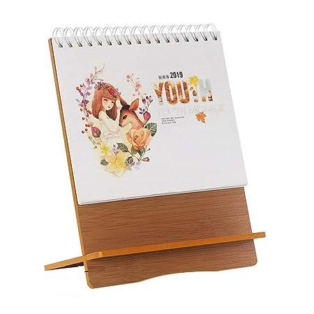 Calendario Calendarios de Escritorio Calendarios d 2019 Bloc de ...