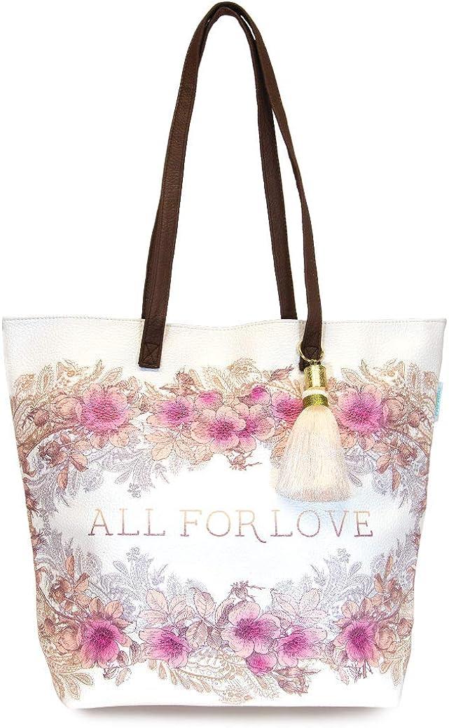 Artistic Bucket Bag Bucket Tote Signature Tote Bag With Vegan Leather Strap Papaya
