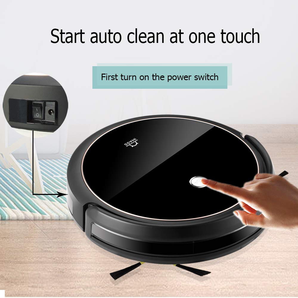 IMASS A3BS Robot Vacuum Cleaner| Alexa